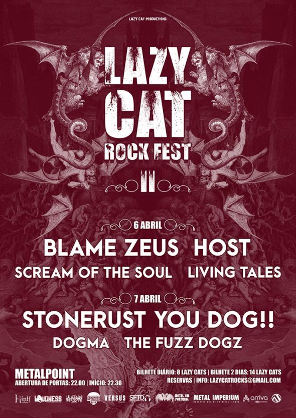 06 07 Lazy Cat Metal Fest