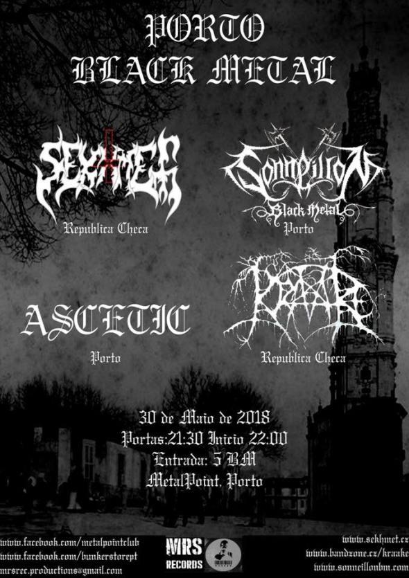 30 Porto Black Metal